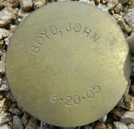 BOYD, JOHN - Maricopa County, Arizona | JOHN BOYD - Arizona Gravestone Photos