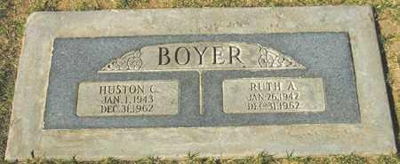 BOYER, HUSTON C. - Maricopa County, Arizona   HUSTON C. BOYER - Arizona Gravestone Photos