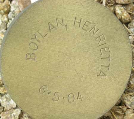 BOYLAN, HENRIETTA - Maricopa County, Arizona | HENRIETTA BOYLAN - Arizona Gravestone Photos