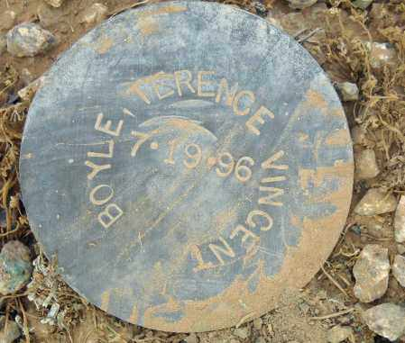 BOYLE, TERENCE VINCENT - Maricopa County, Arizona | TERENCE VINCENT BOYLE - Arizona Gravestone Photos
