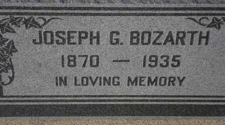 BOZARTH, JOSEPH G. - Maricopa County, Arizona | JOSEPH G. BOZARTH - Arizona Gravestone Photos