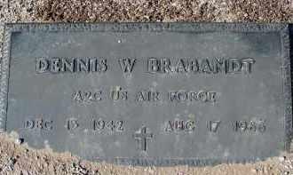 BRABANDT, DENNIS W. - Maricopa County, Arizona | DENNIS W. BRABANDT - Arizona Gravestone Photos