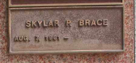 BRACE, SKYLAR P. - Maricopa County, Arizona | SKYLAR P. BRACE - Arizona Gravestone Photos