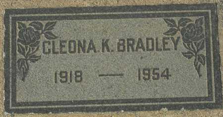 BRADLEY, CLEONA K. - Maricopa County, Arizona   CLEONA K. BRADLEY - Arizona Gravestone Photos