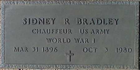 BRADLEY, SIDNEY R. - Maricopa County, Arizona | SIDNEY R. BRADLEY - Arizona Gravestone Photos