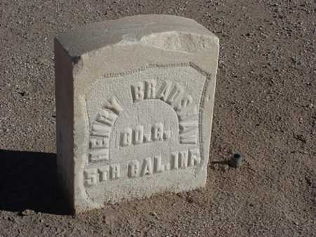 BRADSHAW, HENRY - Maricopa County, Arizona | HENRY BRADSHAW - Arizona Gravestone Photos