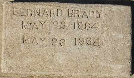 BRADY, BERNARD - Maricopa County, Arizona | BERNARD BRADY - Arizona Gravestone Photos