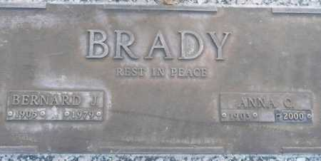 BRADY, ANNA C. - Maricopa County, Arizona   ANNA C. BRADY - Arizona Gravestone Photos