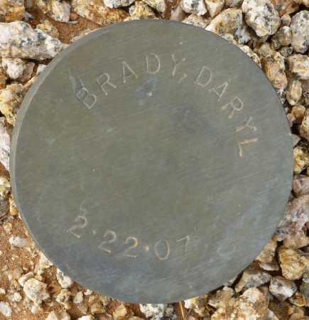 BRADY, DARYL - Maricopa County, Arizona | DARYL BRADY - Arizona Gravestone Photos