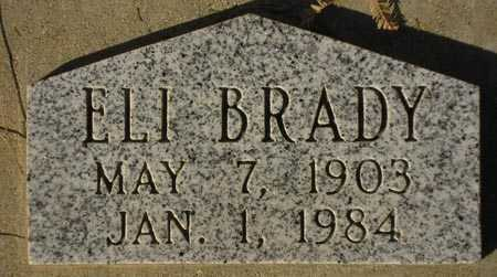 BRADY, ELI - Maricopa County, Arizona   ELI BRADY - Arizona Gravestone Photos