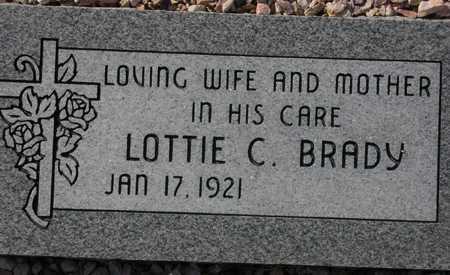 BRADY, LOTTIE C. - Maricopa County, Arizona | LOTTIE C. BRADY - Arizona Gravestone Photos
