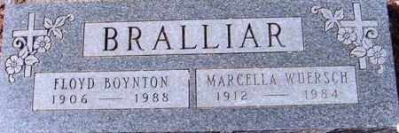 WUERSCH BRALLIAR, MARCELLA - Maricopa County, Arizona | MARCELLA WUERSCH BRALLIAR - Arizona Gravestone Photos