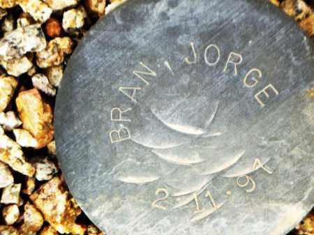 BRAN, JORGE - Maricopa County, Arizona | JORGE BRAN - Arizona Gravestone Photos