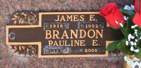 BRANDON, JAMES E - Maricopa County, Arizona | JAMES E BRANDON - Arizona Gravestone Photos