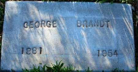BRANDT, GEORGE WASHINGTON - Maricopa County, Arizona | GEORGE WASHINGTON BRANDT - Arizona Gravestone Photos