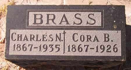 BRASS, CORA B. - Maricopa County, Arizona | CORA B. BRASS - Arizona Gravestone Photos