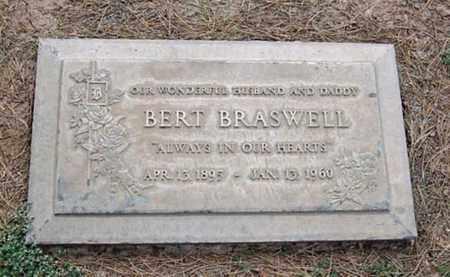BRASWELL, BERT - Maricopa County, Arizona | BERT BRASWELL - Arizona Gravestone Photos
