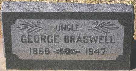 BRASWELL, GEORGE - Maricopa County, Arizona | GEORGE BRASWELL - Arizona Gravestone Photos