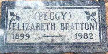 BURNS BRATTON, ELIZABETH ELLEN (PEGGY) - Maricopa County, Arizona | ELIZABETH ELLEN (PEGGY) BURNS BRATTON - Arizona Gravestone Photos