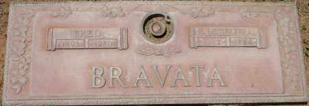 BRAVATA, ANGELINA - Maricopa County, Arizona | ANGELINA BRAVATA - Arizona Gravestone Photos