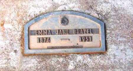 BRAZEL, EMMA JANE - Maricopa County, Arizona | EMMA JANE BRAZEL - Arizona Gravestone Photos
