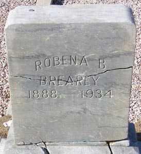 BREAREY, ROBENA B. (OLD MARKER) - Maricopa County, Arizona   ROBENA B. (OLD MARKER) BREAREY - Arizona Gravestone Photos