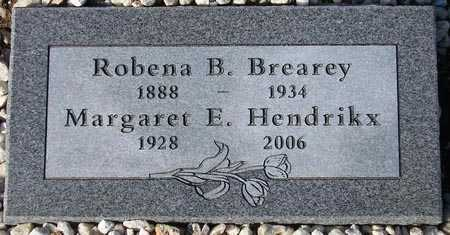 HENDRIKX, MARGARET E. - Maricopa County, Arizona | MARGARET E. HENDRIKX - Arizona Gravestone Photos