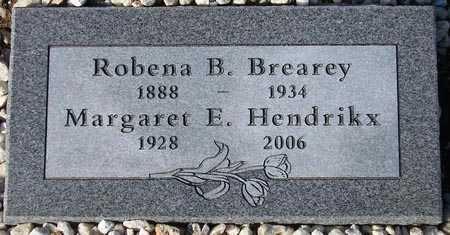 BREAREY, ROBENA B. (NEW MARKER) - Maricopa County, Arizona | ROBENA B. (NEW MARKER) BREAREY - Arizona Gravestone Photos