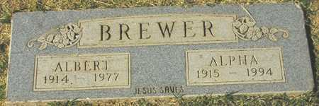 BREWER, ALPHA - Maricopa County, Arizona | ALPHA BREWER - Arizona Gravestone Photos
