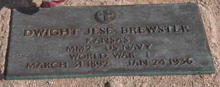 BREWSTER, DWIGHT JESE - Maricopa County, Arizona | DWIGHT JESE BREWSTER - Arizona Gravestone Photos