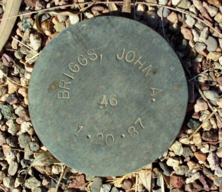 BRIGGS, JOHN A. - Maricopa County, Arizona | JOHN A. BRIGGS - Arizona Gravestone Photos