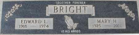 BRIGHT, MARY H - Maricopa County, Arizona   MARY H BRIGHT - Arizona Gravestone Photos