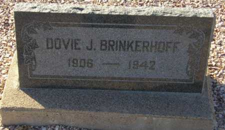 JARNAGIN BRINKERHOFF, DOVIE J(ARNAGIN) - Maricopa County, Arizona | DOVIE J(ARNAGIN) JARNAGIN BRINKERHOFF - Arizona Gravestone Photos