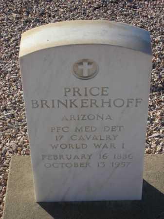 BRINKERHOFF, PRICE - Maricopa County, Arizona | PRICE BRINKERHOFF - Arizona Gravestone Photos