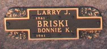BRISKI, BONNIE K - Maricopa County, Arizona | BONNIE K BRISKI - Arizona Gravestone Photos