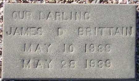 BRITTAIN, JAMES D. - Maricopa County, Arizona | JAMES D. BRITTAIN - Arizona Gravestone Photos