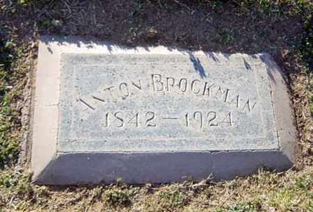 BROCKMAN, ANTON - Maricopa County, Arizona | ANTON BROCKMAN - Arizona Gravestone Photos
