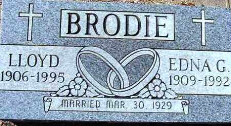 BRODIE, EDNA GENEVIVE - Maricopa County, Arizona | EDNA GENEVIVE BRODIE - Arizona Gravestone Photos