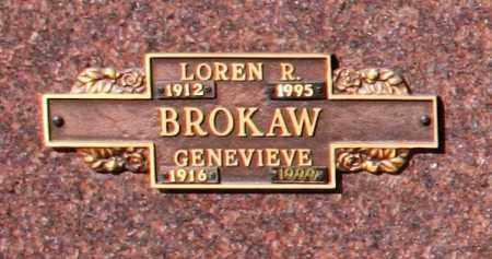 BROKAW, GENEVIEVE - Maricopa County, Arizona | GENEVIEVE BROKAW - Arizona Gravestone Photos