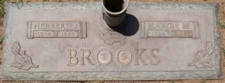 BROOKS, HERBERT J - Maricopa County, Arizona | HERBERT J BROOKS - Arizona Gravestone Photos