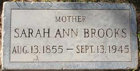 BROOKS, SARAH ANN - Maricopa County, Arizona | SARAH ANN BROOKS - Arizona Gravestone Photos