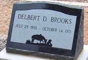 BROOKS, DELBERT DEAN, SR - Maricopa County, Arizona | DELBERT DEAN, SR BROOKS - Arizona Gravestone Photos