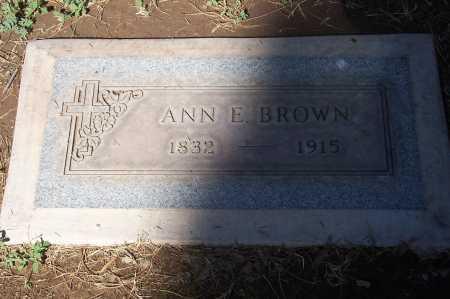 BROWN, ANN E. - Maricopa County, Arizona | ANN E. BROWN - Arizona Gravestone Photos