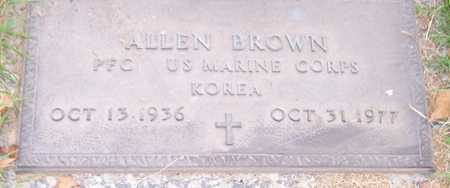 BROWN, ALLEN - Maricopa County, Arizona | ALLEN BROWN - Arizona Gravestone Photos