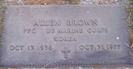 BROWN, ALLEN - Maricopa County, Arizona | ALLEN BROWN - Arizona Gravestone Photos