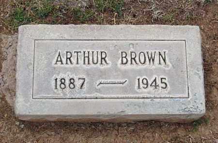 BROWN, ARTHUR - Maricopa County, Arizona | ARTHUR BROWN - Arizona Gravestone Photos