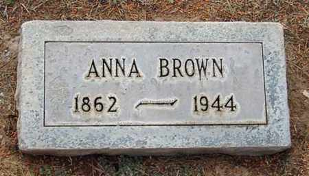 BROWN, ANNA - Maricopa County, Arizona | ANNA BROWN - Arizona Gravestone Photos