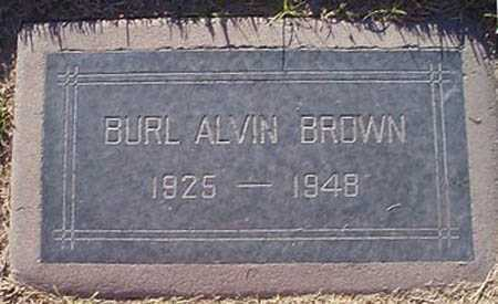 BROWN, BURL ALVIN - Maricopa County, Arizona | BURL ALVIN BROWN - Arizona Gravestone Photos