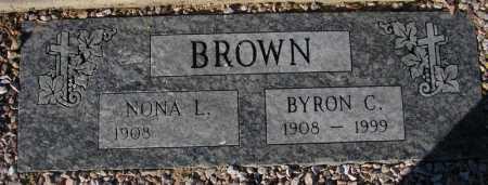 BROWN, NONA L. - Maricopa County, Arizona | NONA L. BROWN - Arizona Gravestone Photos