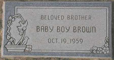 BROWN, BABY BOY - Maricopa County, Arizona | BABY BOY BROWN - Arizona Gravestone Photos